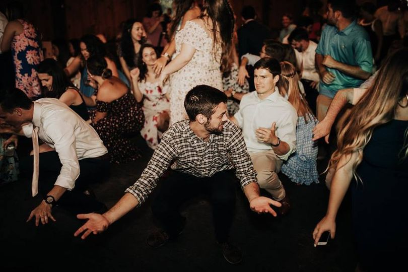 Getting down to dance