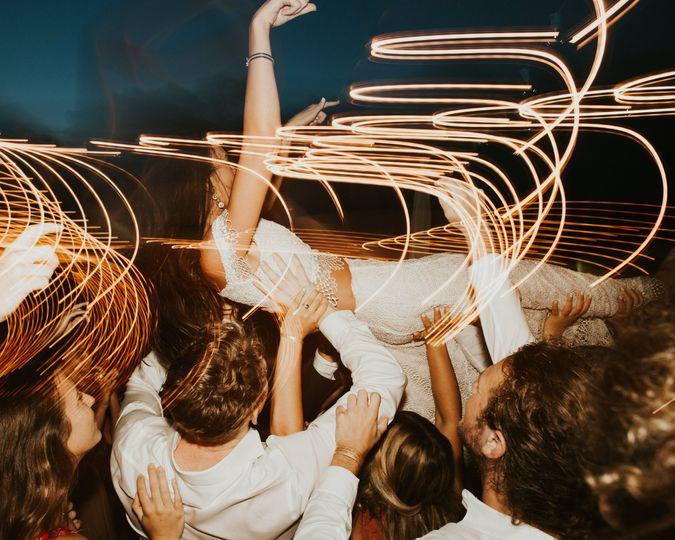 Crowd Surfin' Bride
