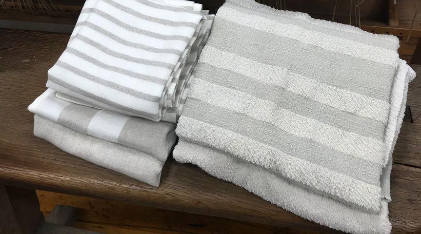Linen Spa Towels.