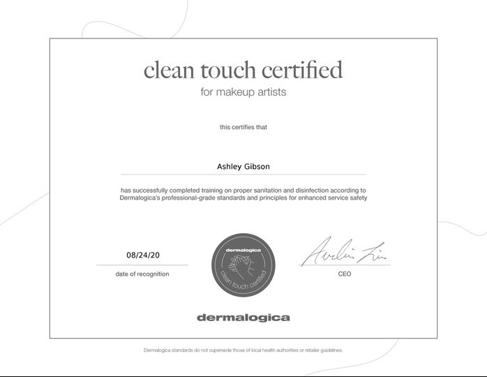 Clean Touch Certified