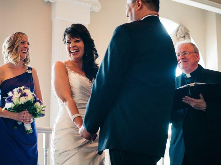 Tmx Carzoli Quinn 6 16 17 Glen Ellyn Bride And Bridesmaid And Rev Phil Smiling Shot Behind Groom 51 15455 V2 Addison, IL wedding officiant