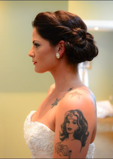 Kayla was such an elegant bride with her vintage look.