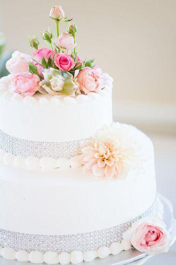 Fresh cake decor