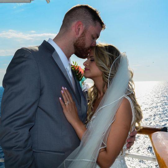 Beautiful Cruise Ship Wedding