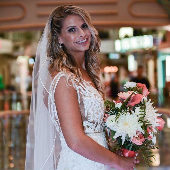 Bride at a Cruise Wedding