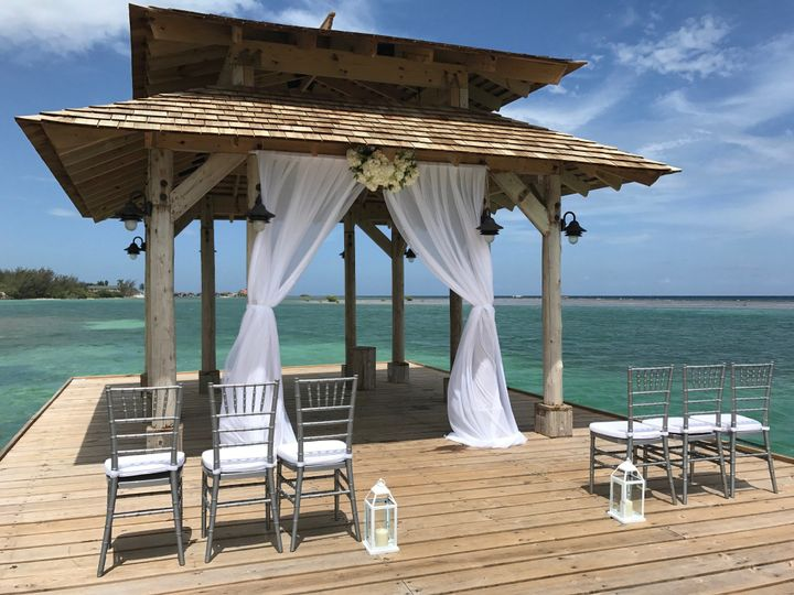 Wedding Site at Zoetry