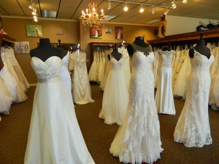Wedding gown selection