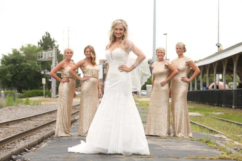 tie the knot bridal boutique llc dress attire green