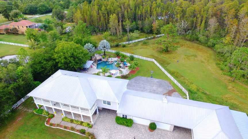 Aerial view of the Southern Plantation Oasis, LLC