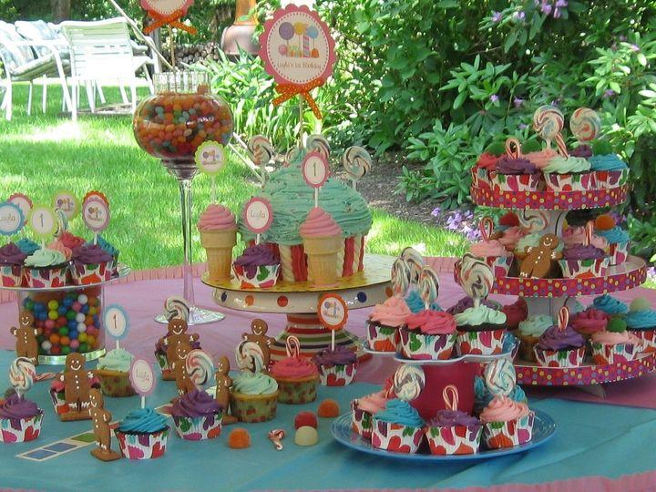 Tmx 1430020466108 Candyland Display2 North Weymouth, MA wedding cake