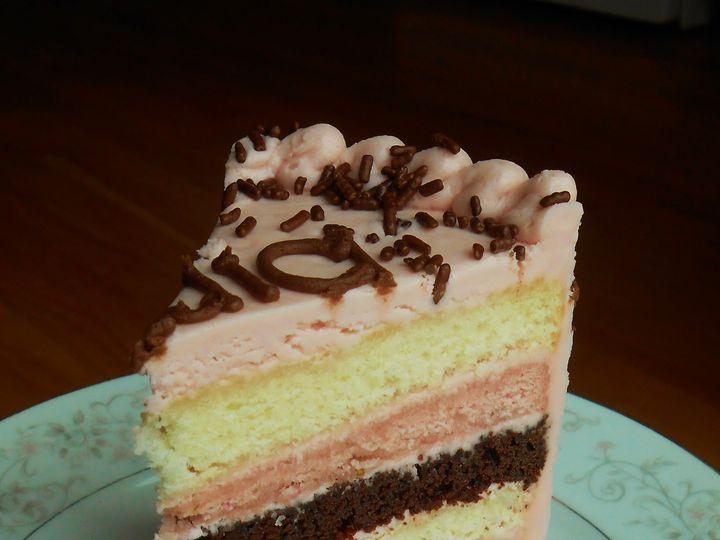 Tmx 1430020505813 Neopolitan Cake 2 North Weymouth, MA wedding cake