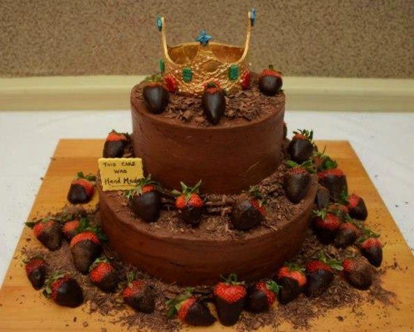 Tmx 1430020518286 Royal Chocolate Cake North Weymouth, MA wedding cake