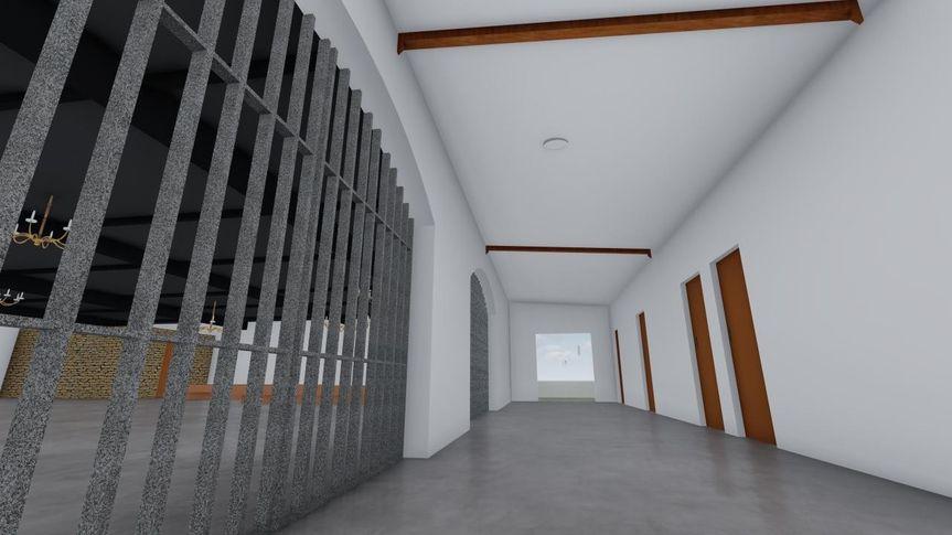 Hallway - CAD