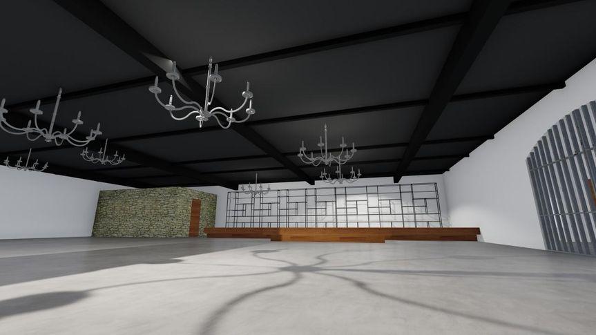 Reception Hall 4 - CAD