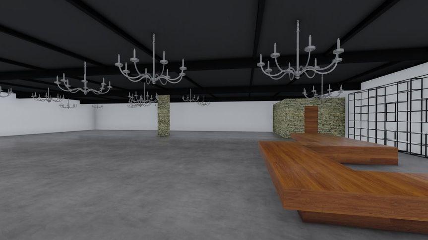 Reception Hall 3 - CAD