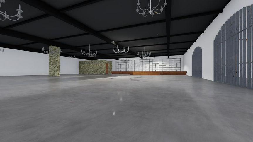 Reception Hall 2 - CAD
