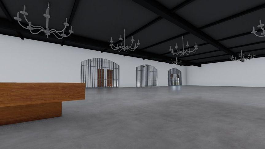 Reception Hall 6 - CAD