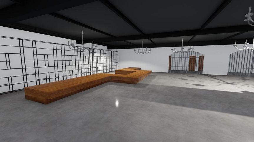 Reception Hall 5 - CAD