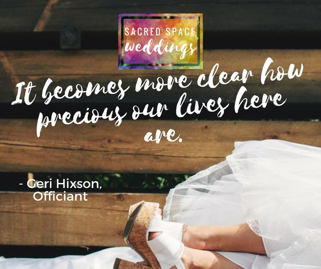 """It becomes more clear how precious our lives here are"" - Geri Hixson"