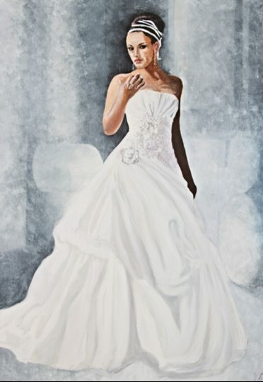 Full Length Bridal Shot