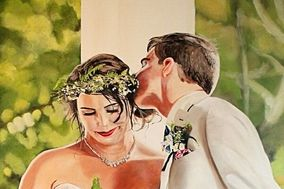 Ken Vrana Art Wedding Commissions