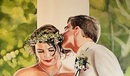 Ken Vrana Art Wedding Commissions