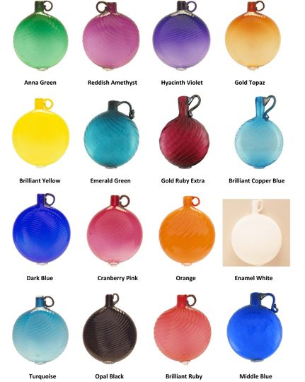 Glass color selection