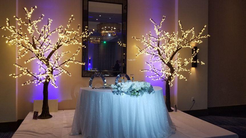 LED cherry blossom trees