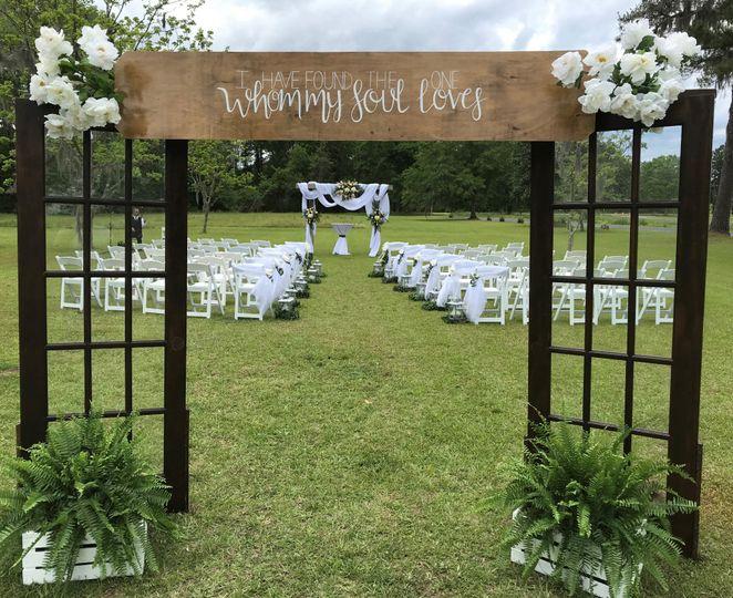 Lovely Ceremony Site