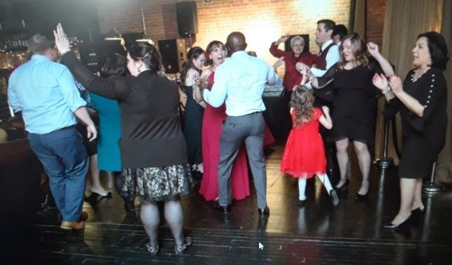 Everyone dances