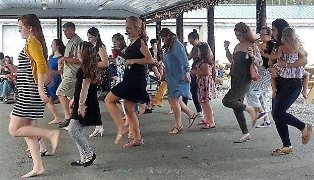 Outside: Let's Dance!