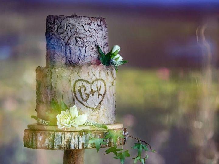 Tmx 1516745046 06fd719f95413a55 1516745045 3231d28c4f938739 1516745043260 1 22046405 102076175 Canyon Country wedding cake