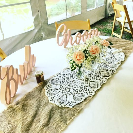 Inn Sweetheart table
