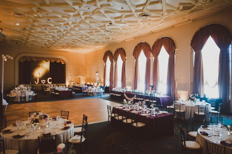 Ballroom with a view.