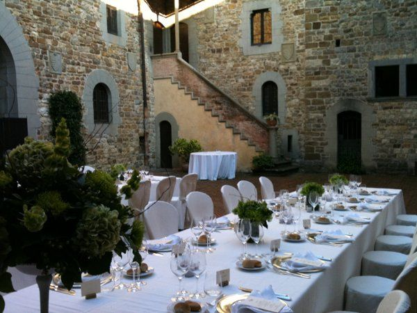 Castle in Italy Wedding