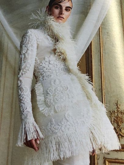 Incredible dress detail