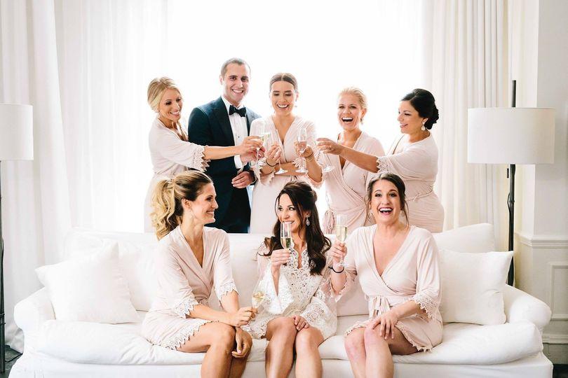 Bridesmaid and extra