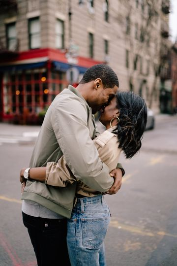 Couple session in New York