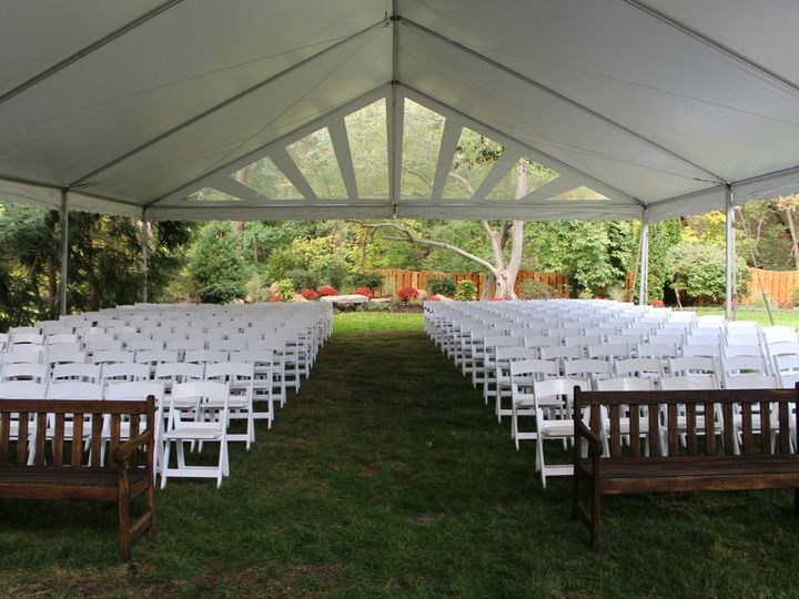 Tmx 1458064991107 40x60 Ceremony Frame Tent Manheim wedding rental