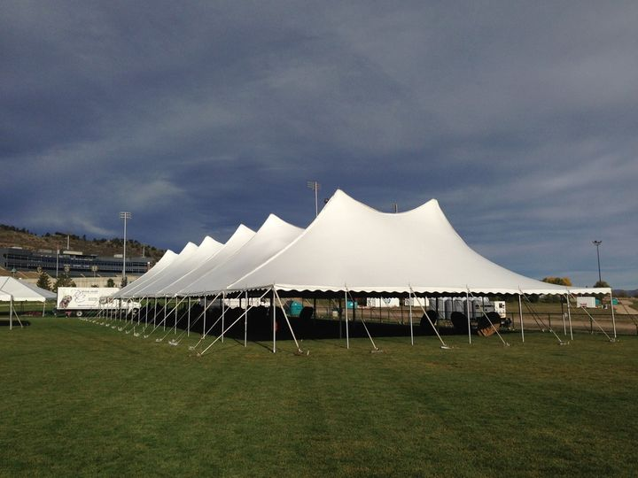 60' Wide Pole Tent