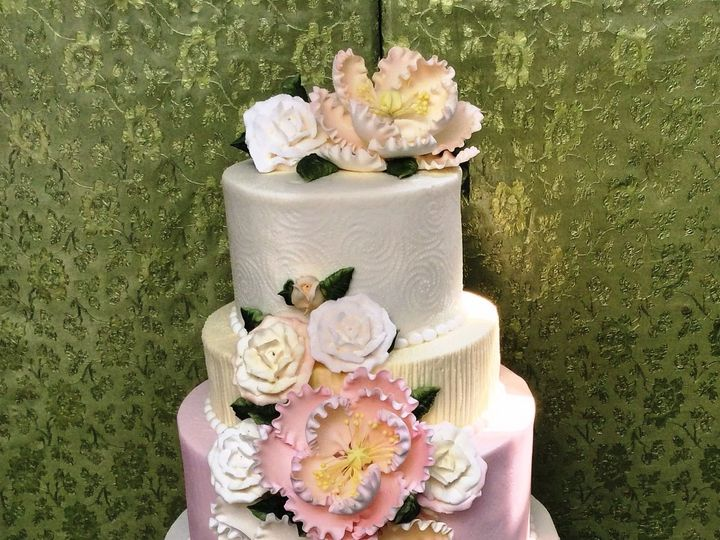 Tmx 1530136677 A9a06fed03d45600 1530136676 2432b05c30df7432 1530136676651 12 Good Bought Peoni Horsham wedding cake