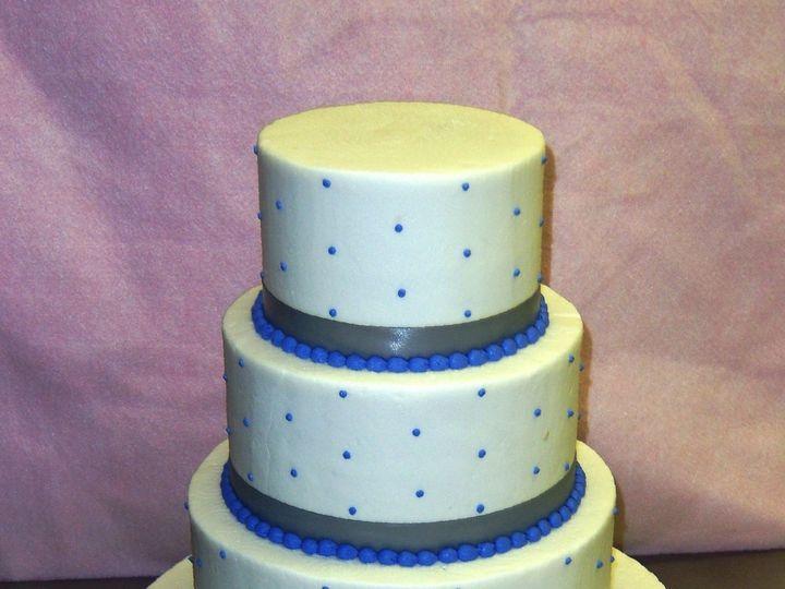 Tmx 1530136940 637bf9faca06d8bc 1530136939 D90c5a6875cd5210 1530136938637 30 BritenedRibbonBlu Horsham wedding cake