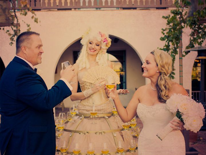 Tmx 1433981352319 Champagneskirtweddingcouple Oakland wedding rental