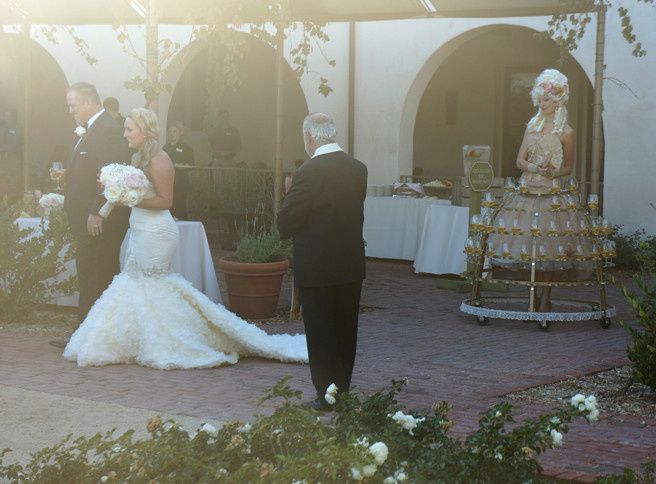 Tmx 1433981463863 Weddingcouplechampskirt Oakland wedding rental