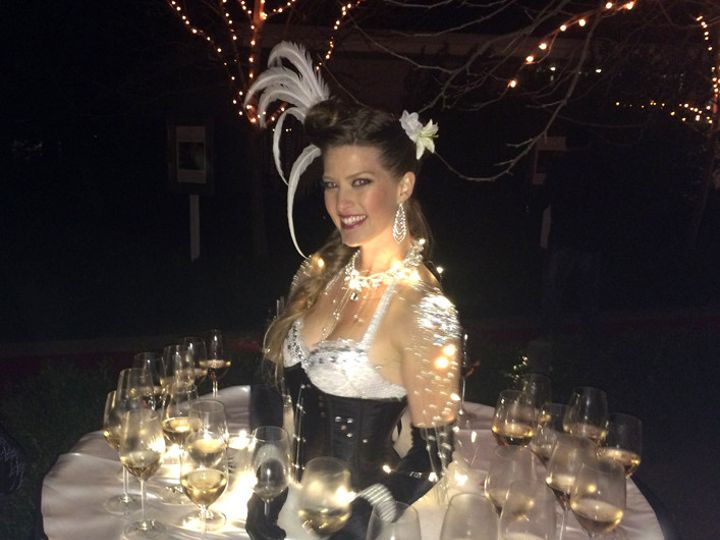Tmx 1435615916524 Showgirlchampagnetable Oakland wedding rental