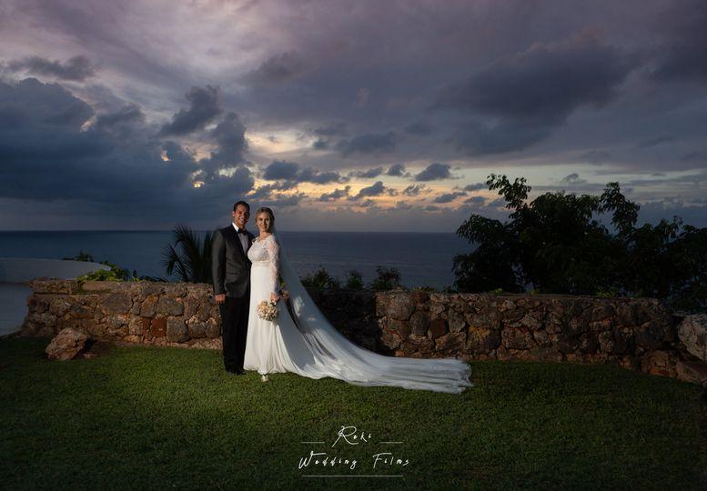 Newlyweds in Aguadilla PR