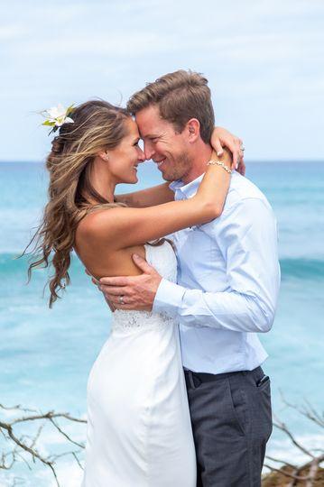 Beach Wedding Heaven