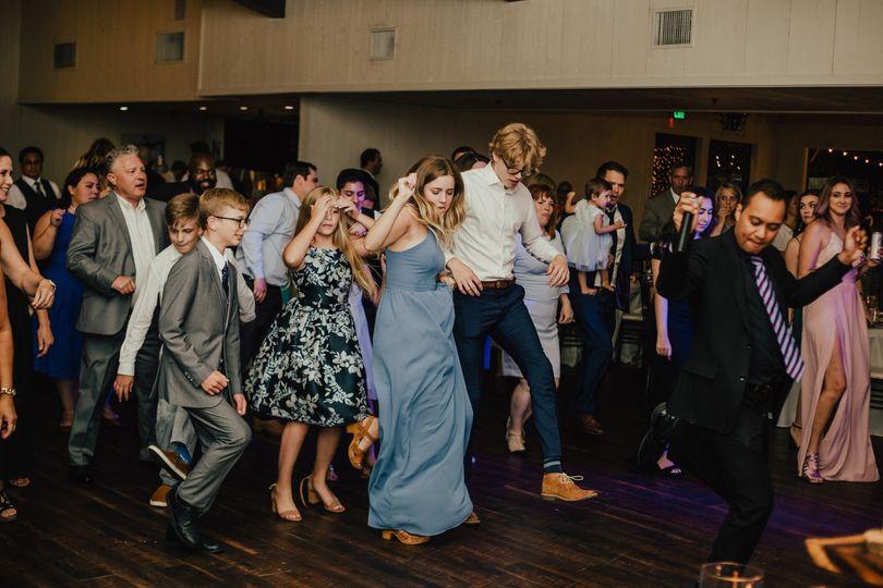 Dance leading packs floor
