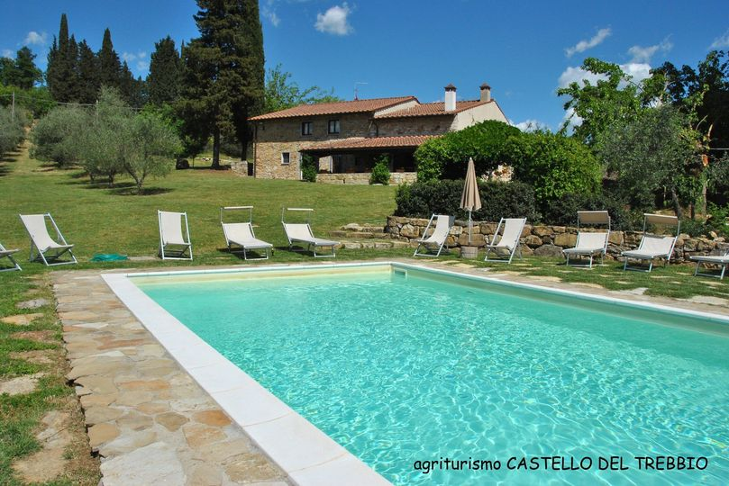 Villa Faltignano, pool