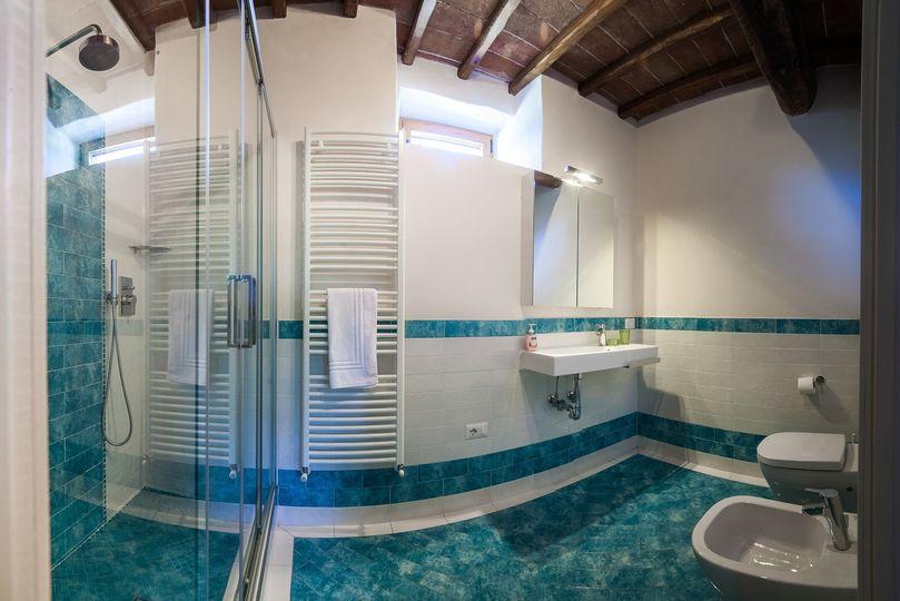 Bathroom in villa Pergola